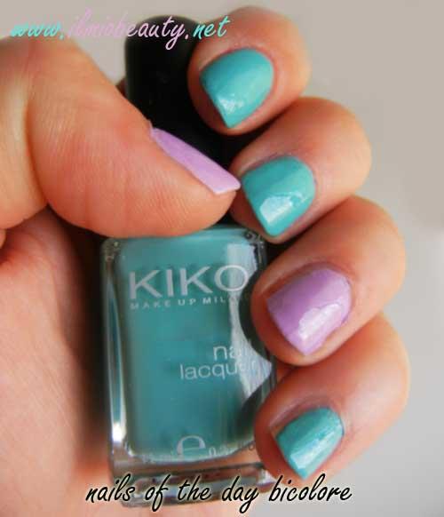 manicure-bicolore