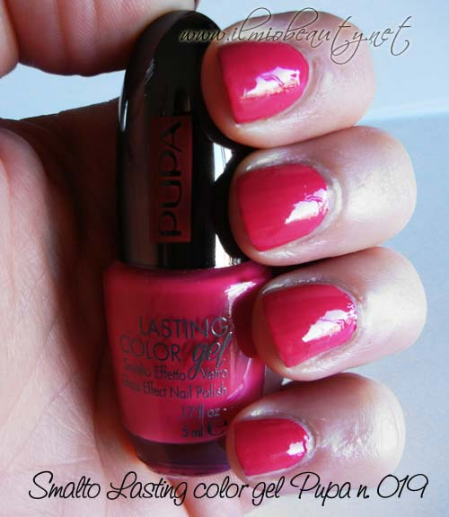 foto con luce naturale - smalto più top coat