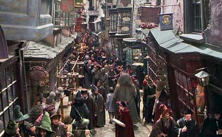 Diagon Alley :)