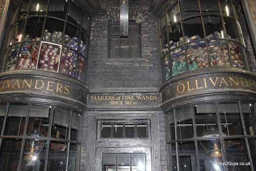 Il negozio di bacchette magiche di Mr. Ollivander XD