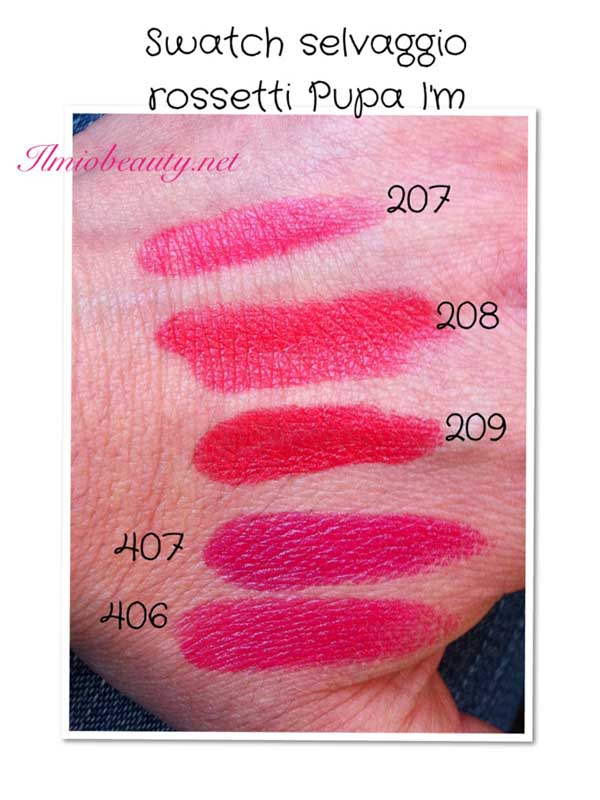 Swatch Rossetto Pupa Im