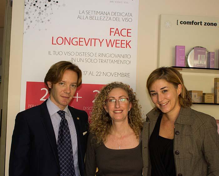 foto a fine trattamento con: Giuseppe Raineri, Viviana Coppola e la sottoscritta struccata ma felice :)