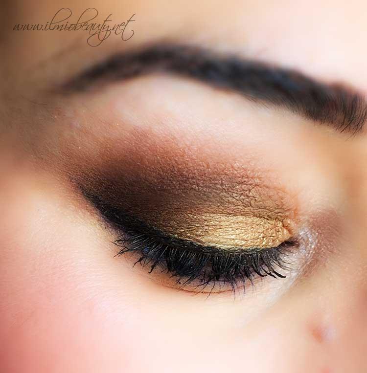 makeup-occhi-oro-marrone