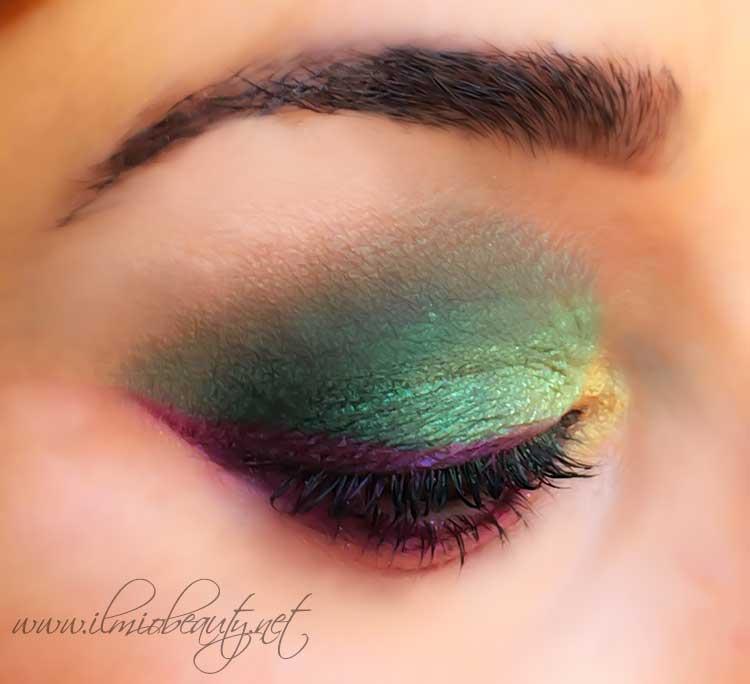 trucco-occhi-verde-viola