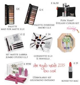 Idee Regalo Natale 2015 Low Cost Il Mio Beauty