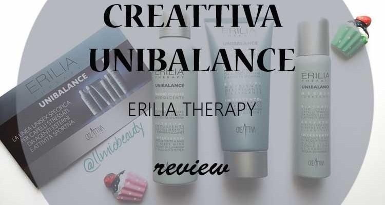 Capelli stressati: review linea Creattiva Unibalance
