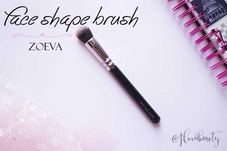 face shape brush zoeva