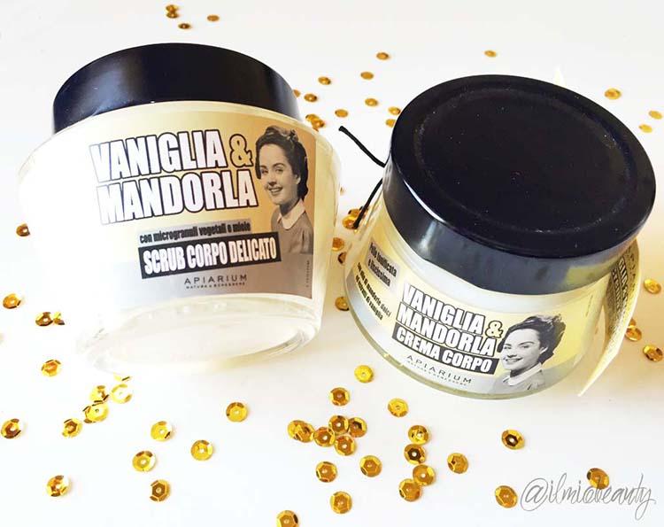 apiarium crema corpo vaniglia e mandorla