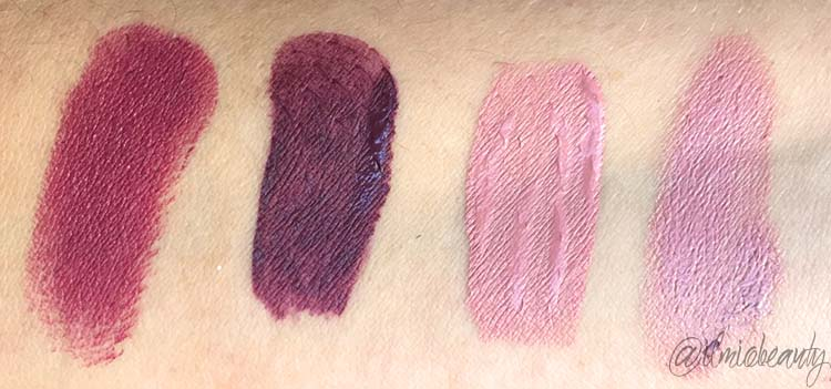 swatch comparativi kiko nuovi unlimited double touch