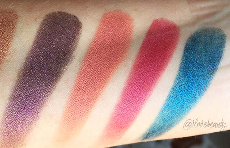 swatch ombretti colourpop