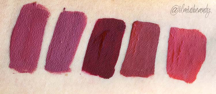 swatch rossetti colourpop