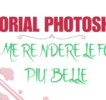 tutorial photoshop per principianti