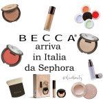 becca arriva in italia