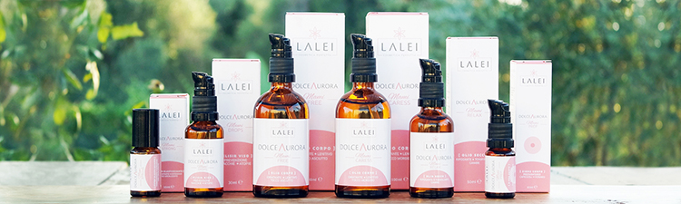 Lalei : preview linea Dolce Aurora