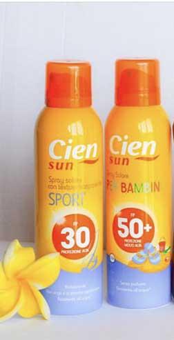 solare cien spray protezione 50