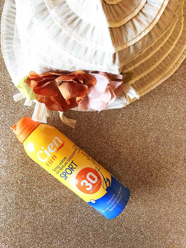 spray protezione 30 cien