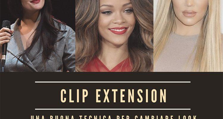 Clip extension: una buona tecnica per cambiare look senza rimpianti.