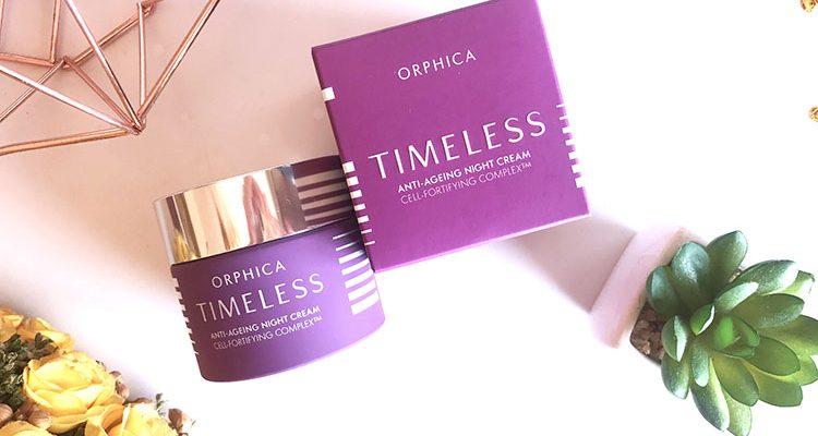 Orphica: recensione Timeless crema notte anti-età